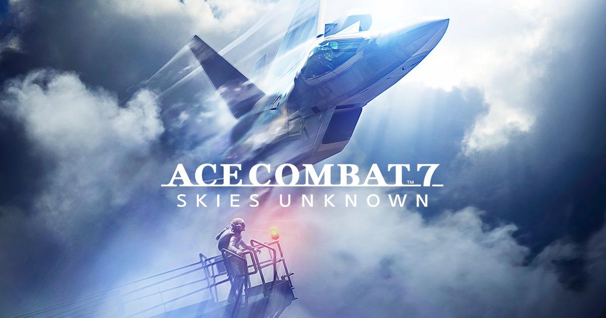 ゲームソフトACE COMBAT 7: SKIES UNKNOWNのアイキャッチ画像
