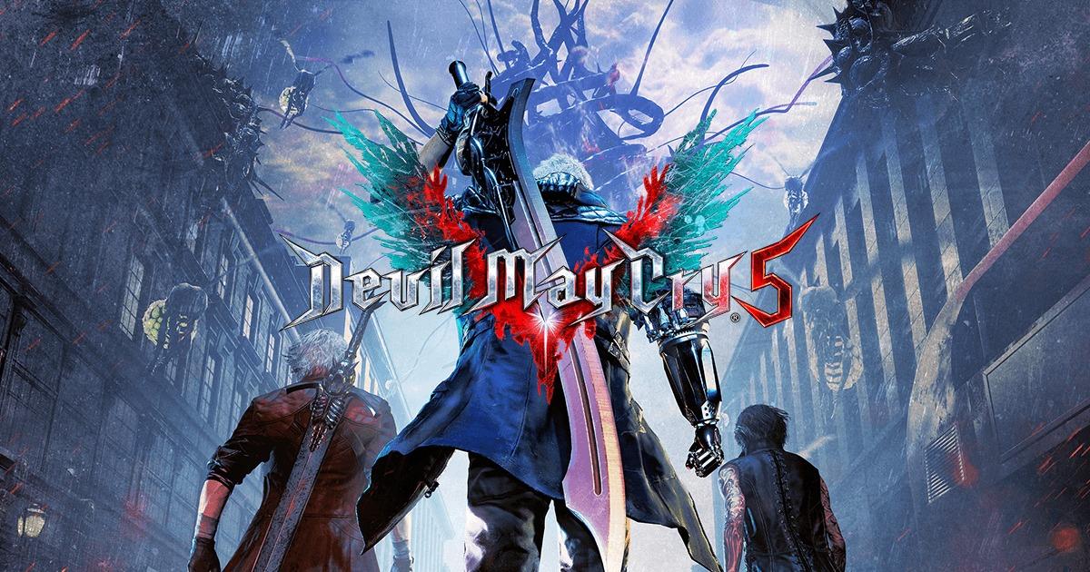 テレビゲームDevil May Cry 5のアイキャッチ画像