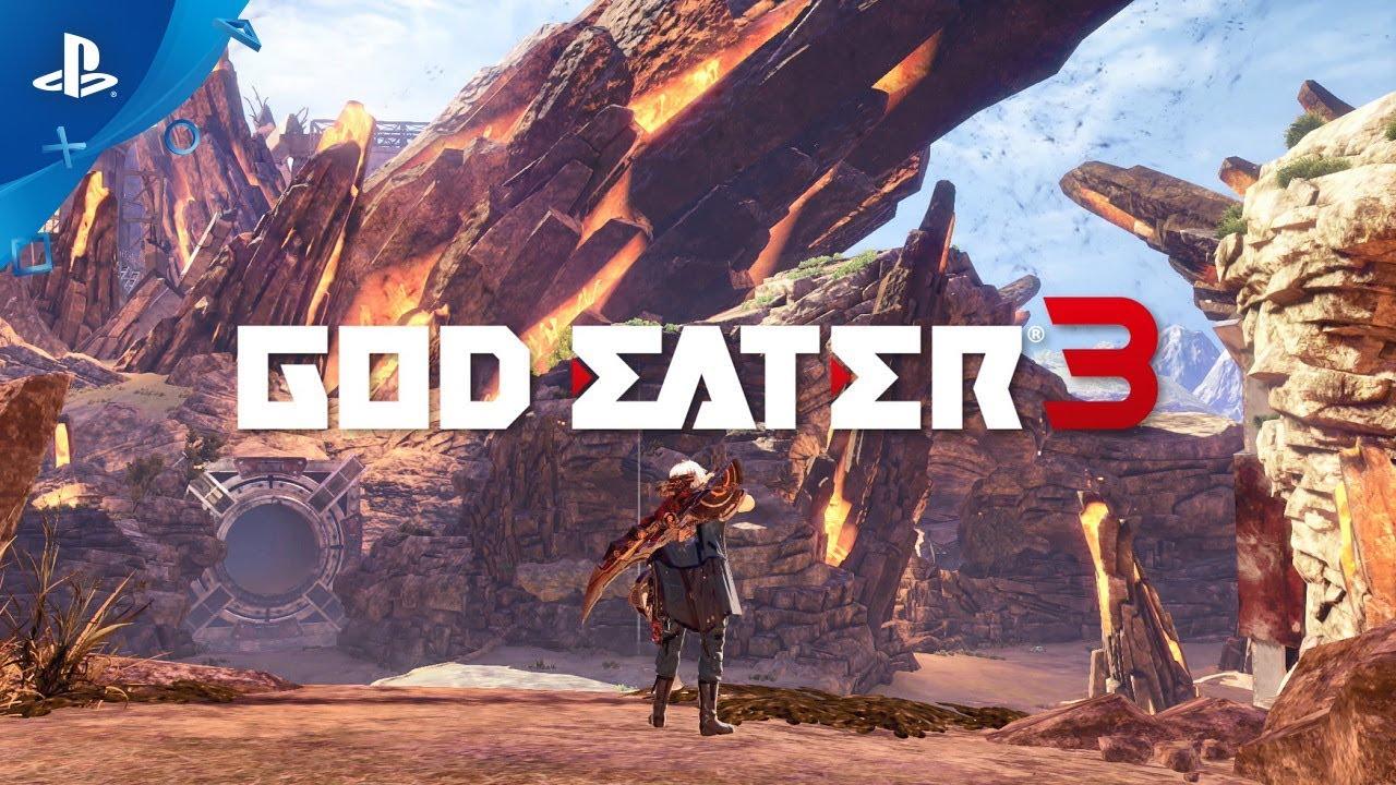 ゲームソフトGOD EATER 3のアイキャッチ画像