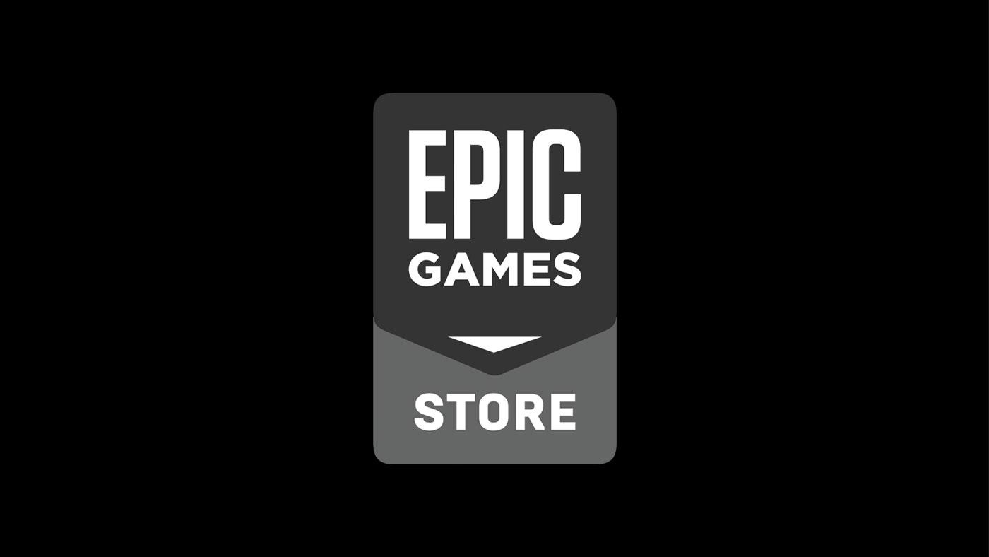 Epic games Storeのロゴマーク