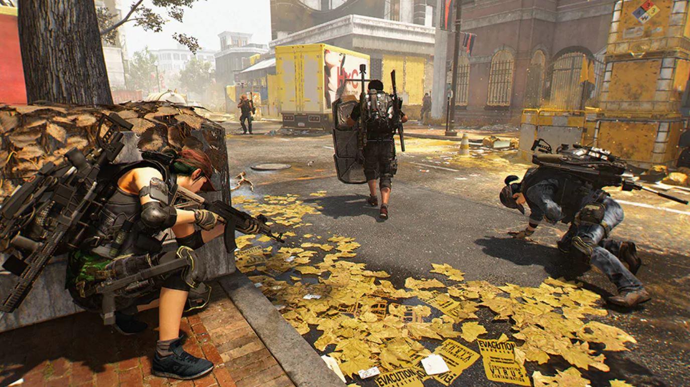 Division2のゲームプレイイメージ画像