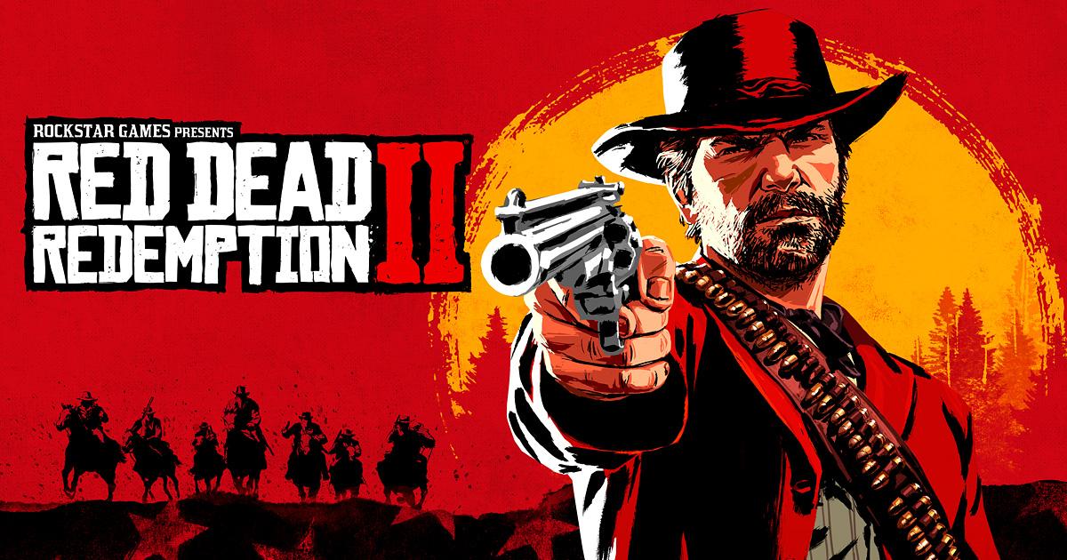 ゲームソフト「レッドデッドリデンプション2」のアイキャッチ画像