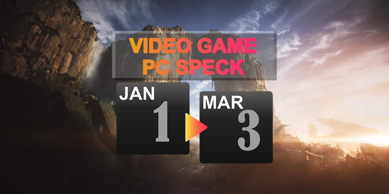 記事「2019年1~3月発売のPC版大作ゲームに必要なスペックまとめ」のアイキャッチ画像