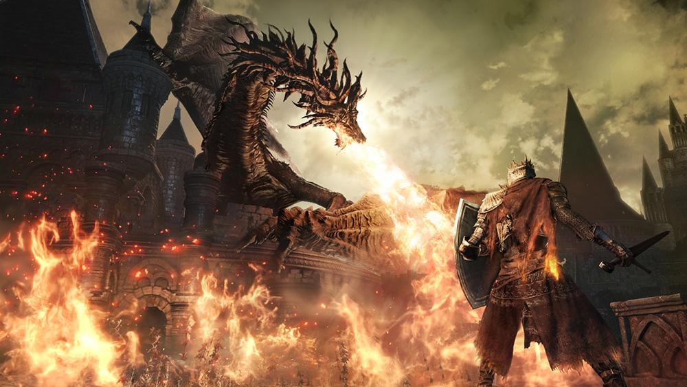 テレビゲーム「ダークソウル3」のアイキャッチ画像