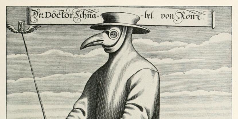 ヴィクトリア朝時代のヨーロッパで活躍したペスト医師のイメージ画像
