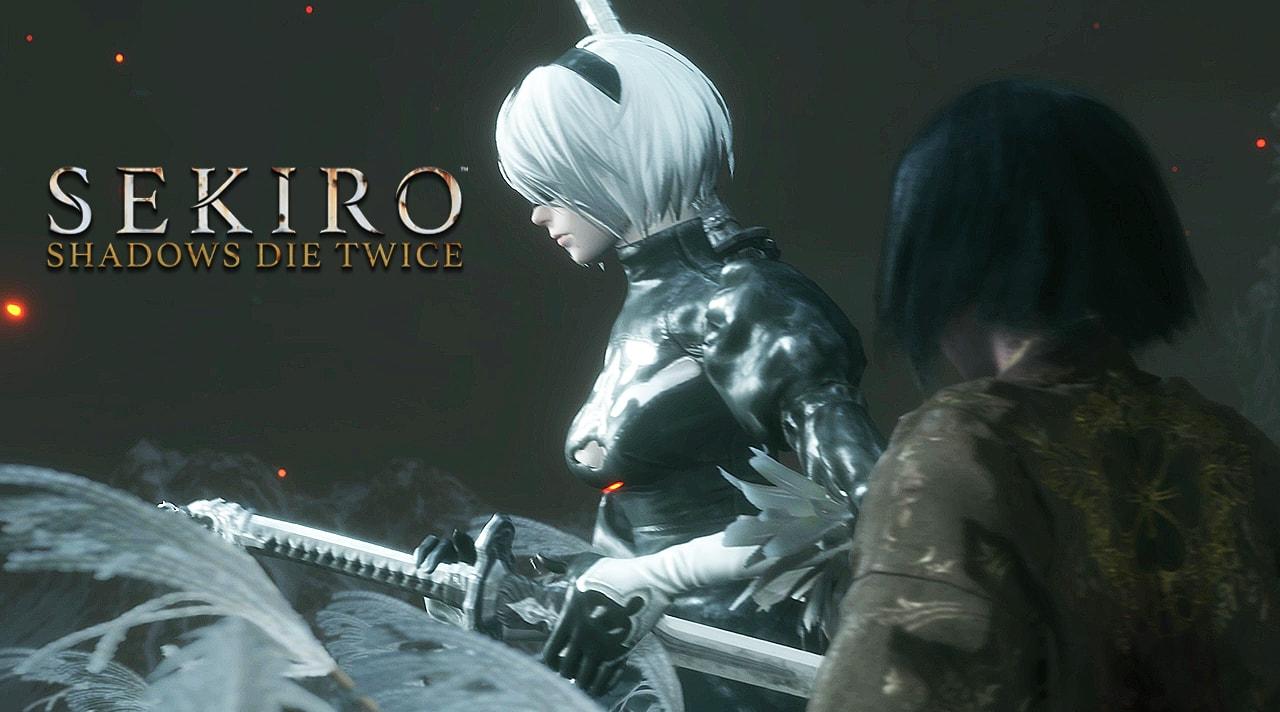 動画「SEKIROに2B登場」のアイキャッチ画像