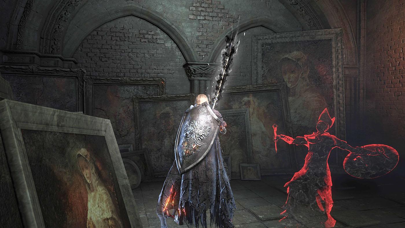 記事「 SEKIRO【隻狼】をダクソ3・ブラボと徹底的に比較する」の陰影・幻影を紹介するアイキャッチ画像