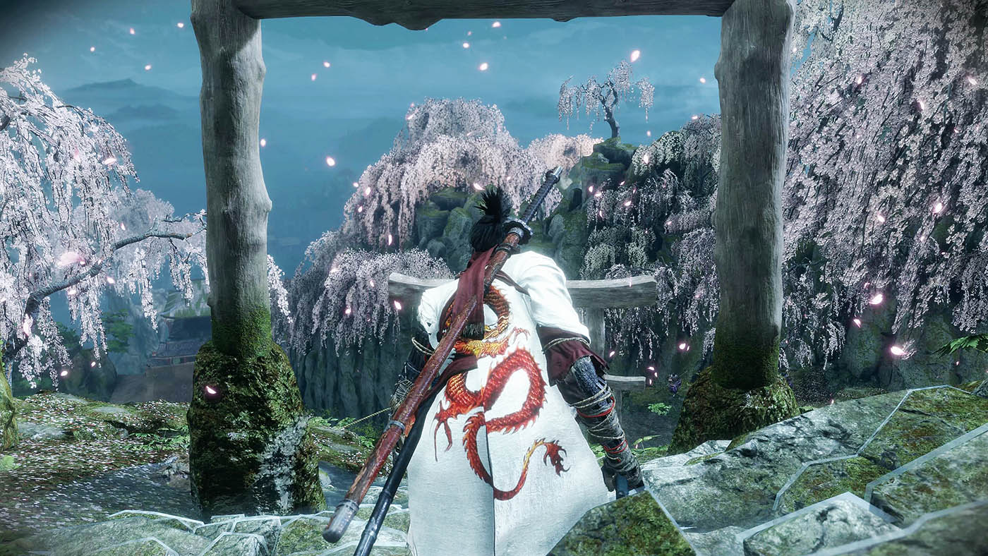 SEKIORのMOD白装束に龍の刺繍を紹介する画像-1
