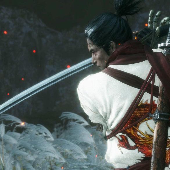 SEKIROのMOD白装束に龍の刺繍のアイキャッチ画像