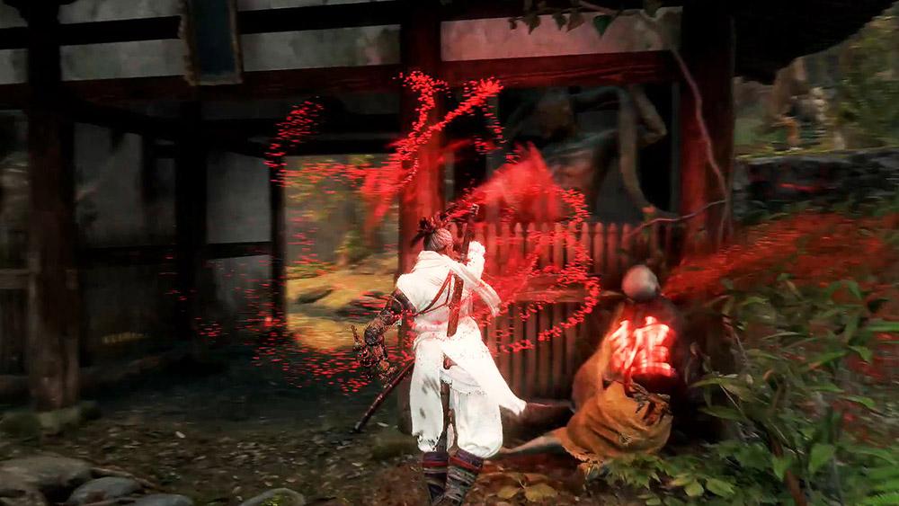 【SEKIRO】隻狼の服を白黒にするMODを紹介するアイキャッチ画像-2