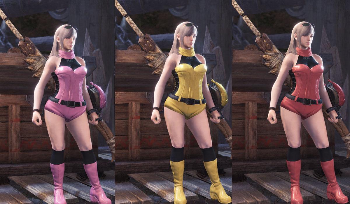 モンスターハンターワールドのMOD「Orion Nova Custom Outfit」を紹介するイメージ画像-6