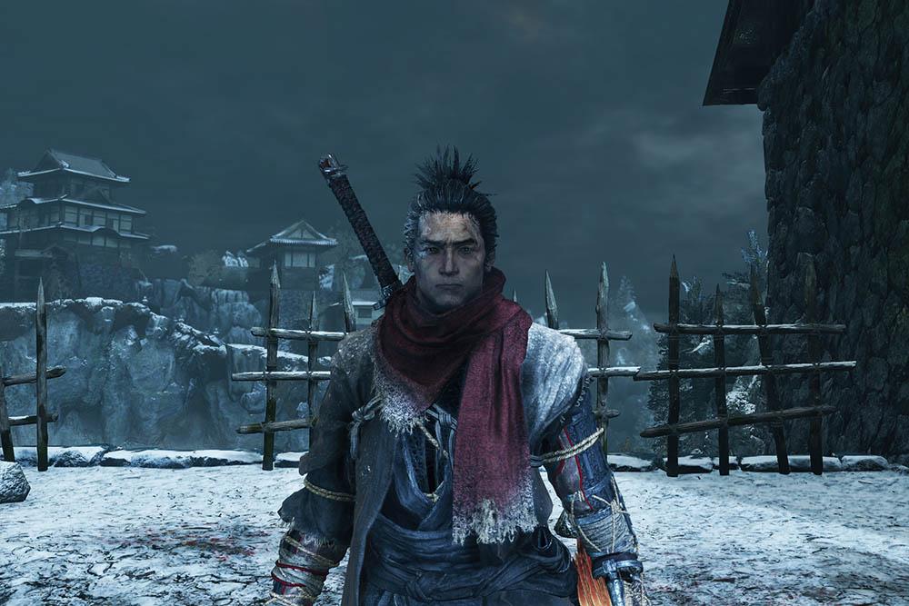 sekiro 葦名の灰のスカーフ赤色のイメージ画像