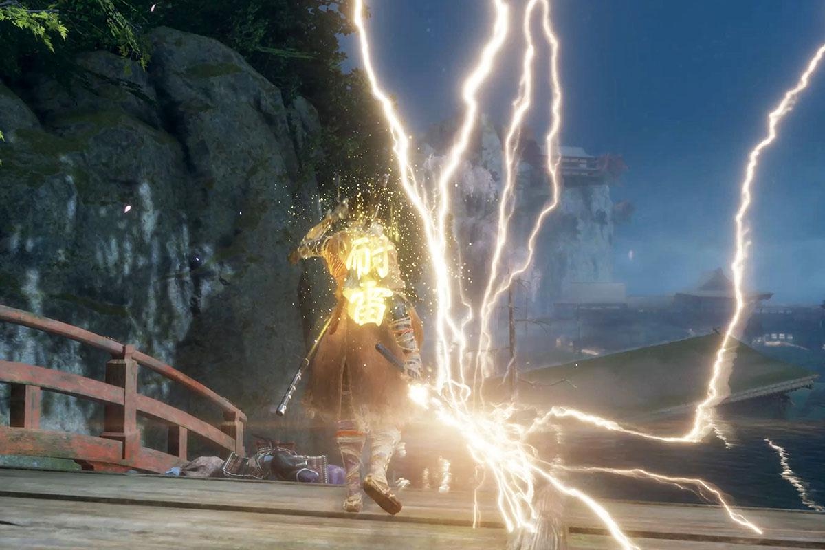 うな胆を使用して雷を付加するイメージ画像