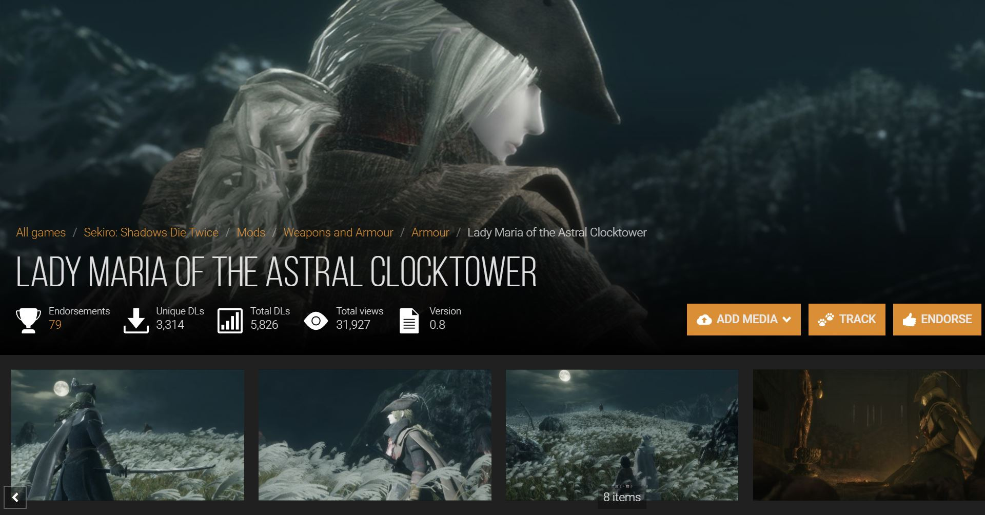 Lady Maria of the Astral Clocktowerのイメージ画像-2