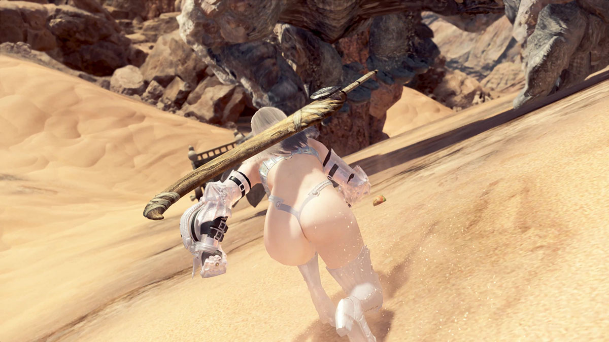 MHWのMOD「Sexy Berserker Vaal Hazak Armor」のイメージ画像-5