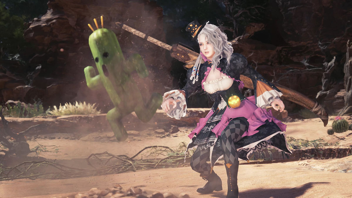 MHWのMOD「Player's Mischievous Dress」のイメージ画像-2