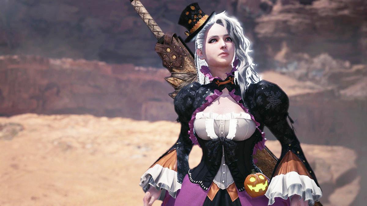 MHWのMOD「Player's Mischievous Dress」のイメージ画像-1