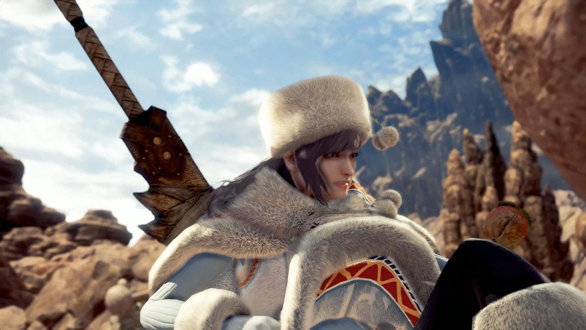 モンスターハンターワールドのMOD「Player's Custom Winter Spirit Coat」を紹介するイメージ画像-2