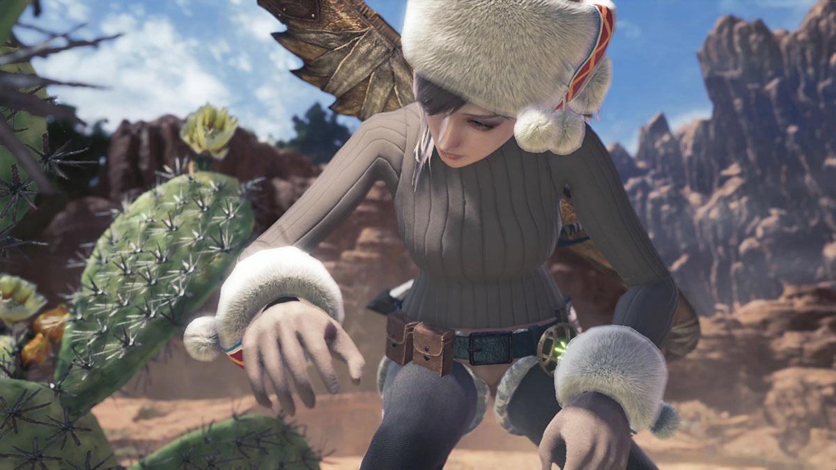 モンスターハンターワールドのMOD「Player's Custom Winter Spirit Coat」を紹介するイメージ画像-6