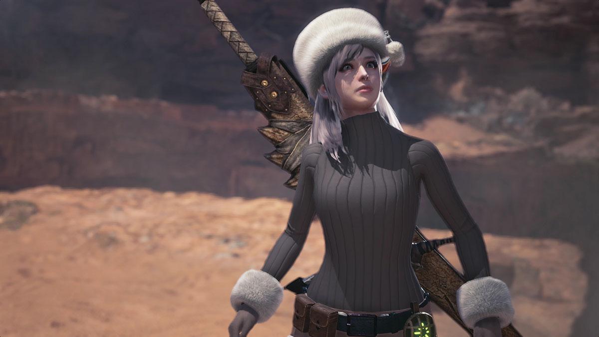 モンスターハンターワールドのMOD「Player's Custom Winter Spirit Coat」を紹介するイメージ画像-5