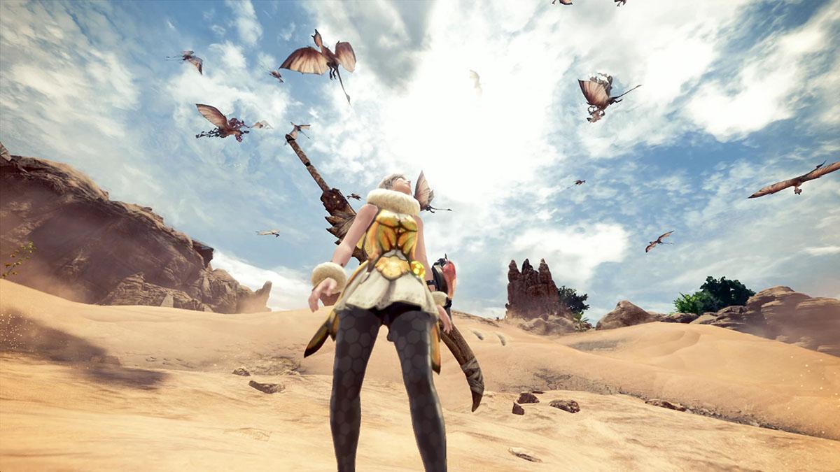 モンスターハンターワールドのMOD「Player's Busy Bee Dress」を紹介するイメージ画像-4