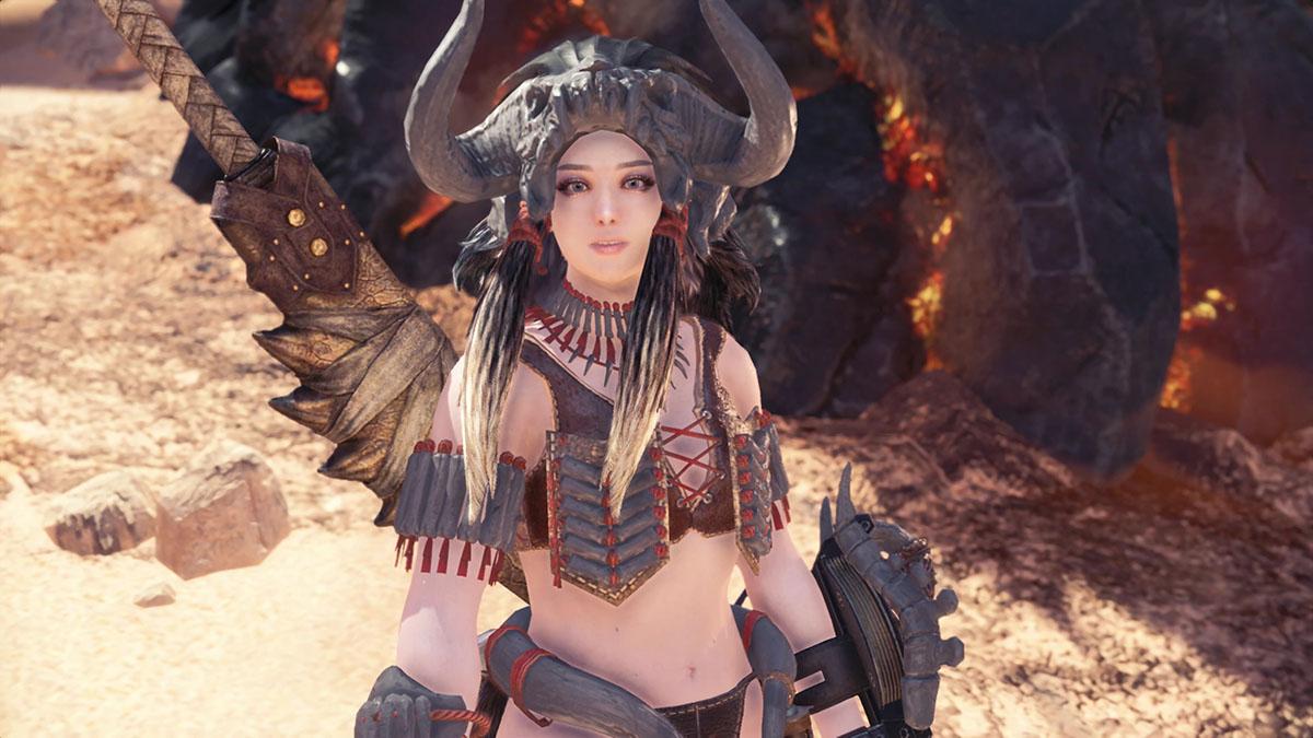 モンスターハンターワールドのMOD「Bikini Armor Collection part.2 -Amazones-」を紹介するイメージ画像-3