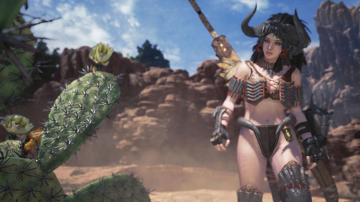 モンスターハンターワールドのMOD「Bikini Armor Collection part.2 -Amazones-」を紹介するイメージ画像-6