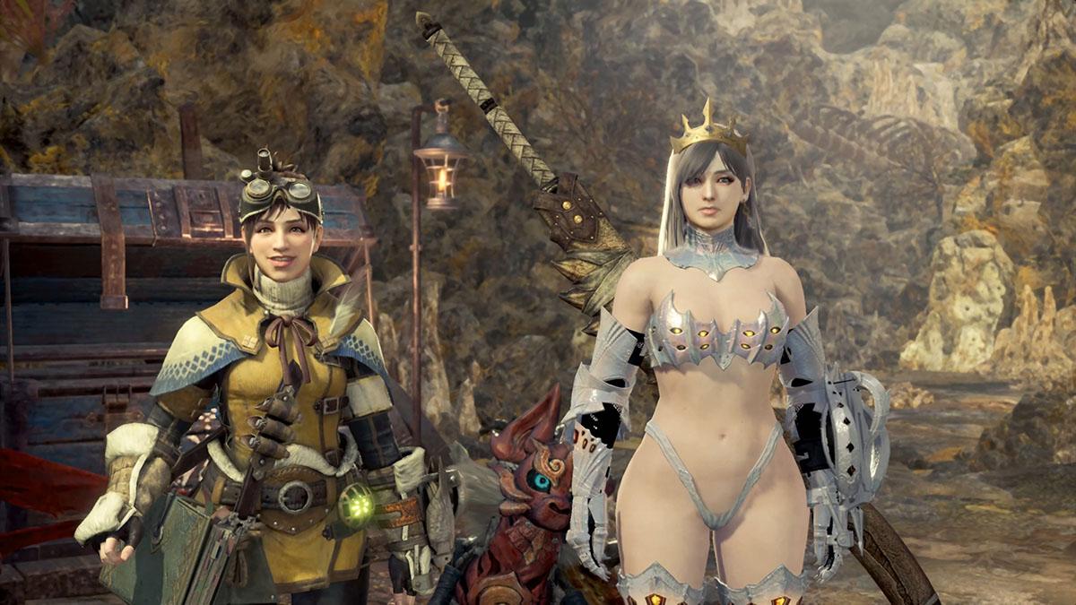 MHWのMOD「Sexy Berserker Vaal Hazak Armor」のイメージ画像-3