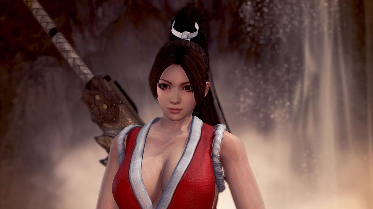 モンスターハンターワールドのMOD「Mai Shiranui」を紹介するイメージ画像-3