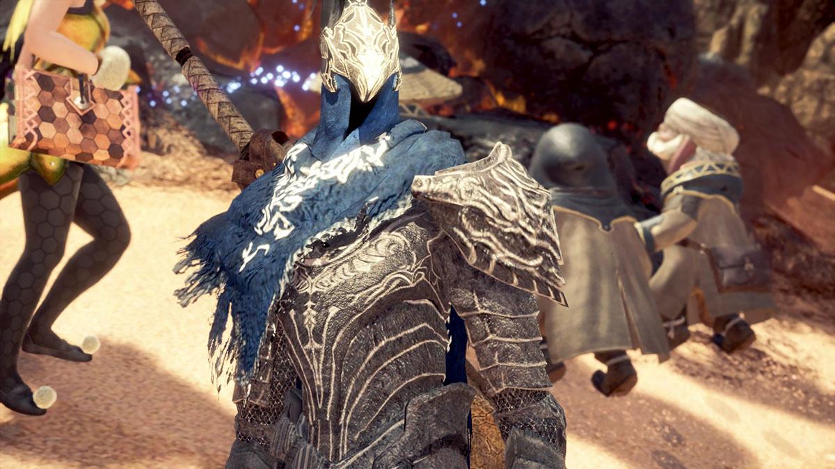 モンスターハンターワールドのMOD「Dark Souls Artorias」を紹介するイメージ画像-2