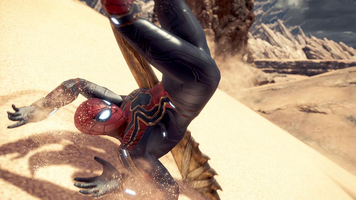 モンスターハンターワールドのMOD「Iron Spiderman」を紹介するイメージ画像-4