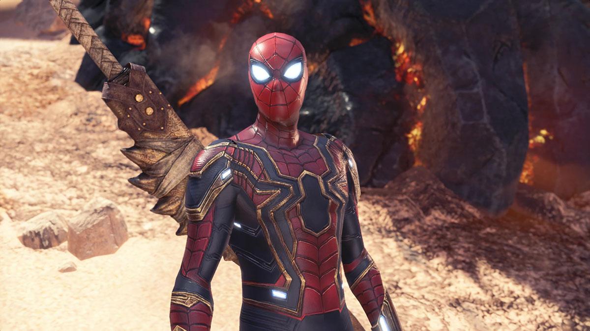モンスターハンターワールドのMOD「Iron Spiderman」を紹介するイメージ画像-5