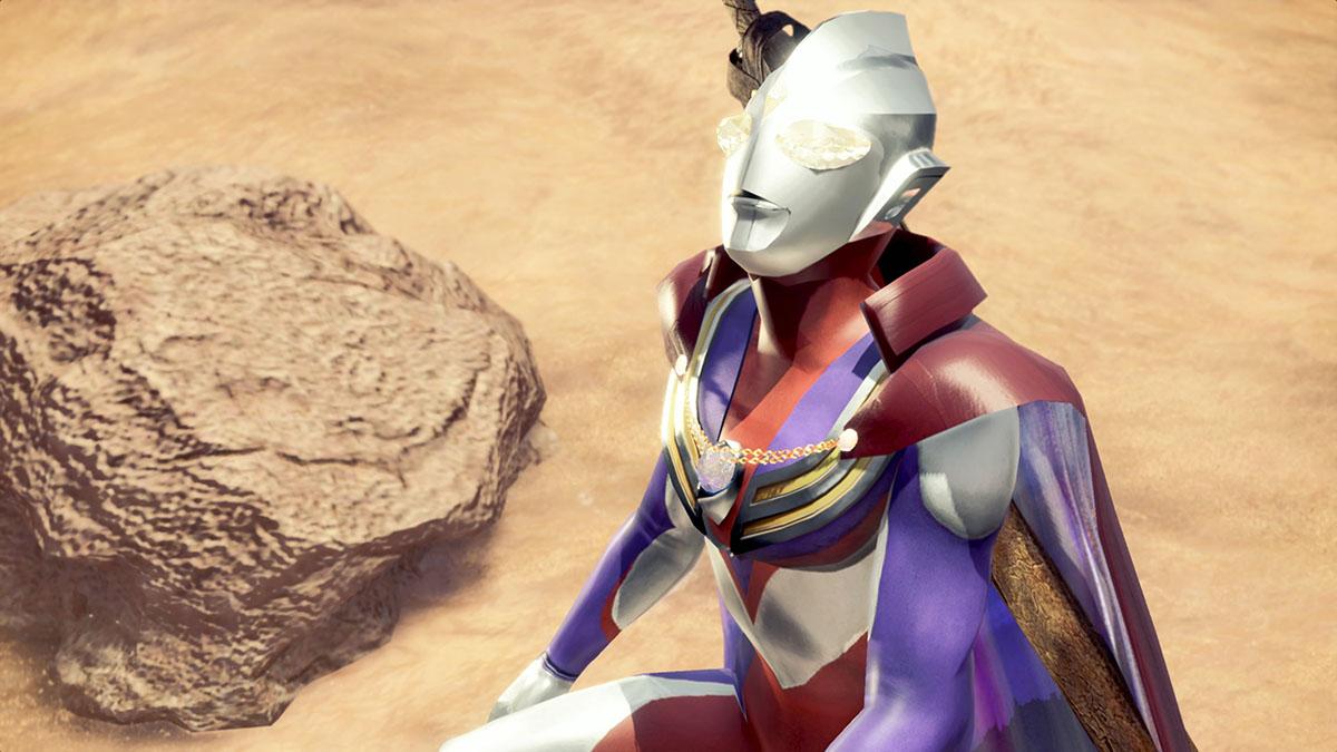 モンスターハンターワールドのMOD「Ultraman Tiga」を紹介するイメージ画像-3