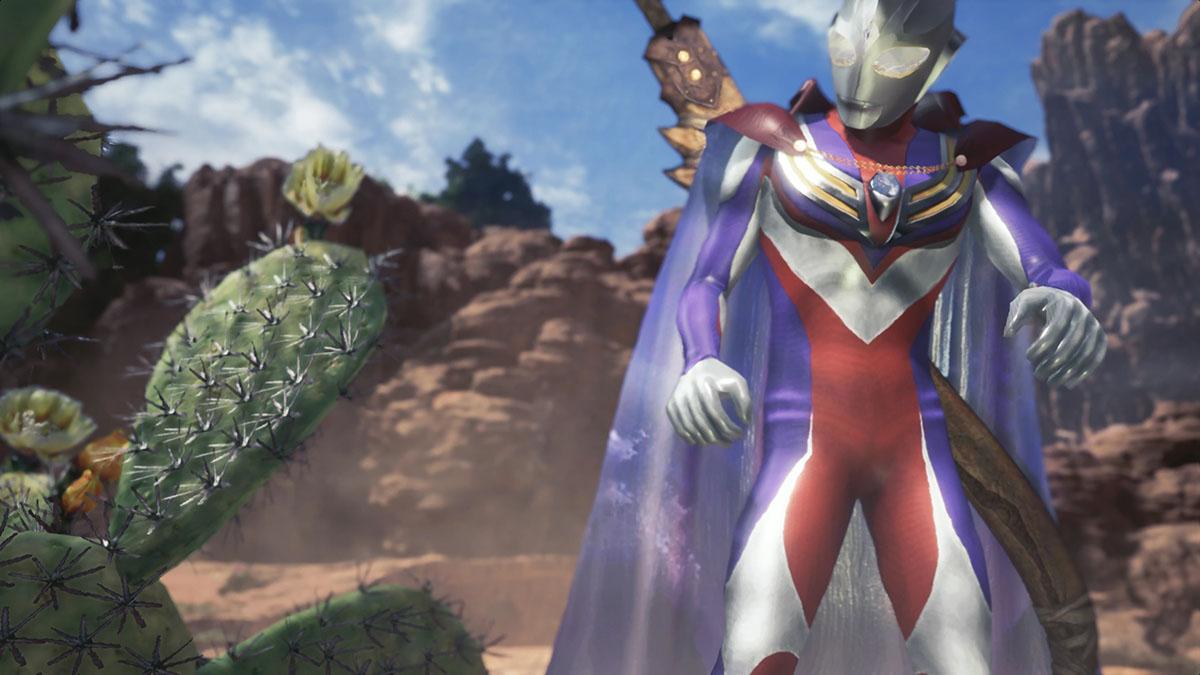 モンスターハンターワールドのMOD「Ultraman Tiga」を紹介するイメージ画像-5