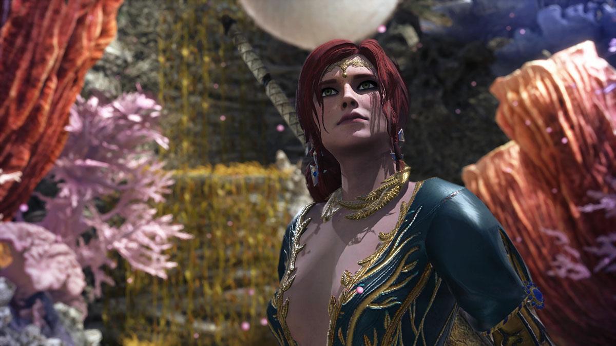モンスターハンターワールドのMOD「The Witcher-Triss」を紹介するイメージ画像-2