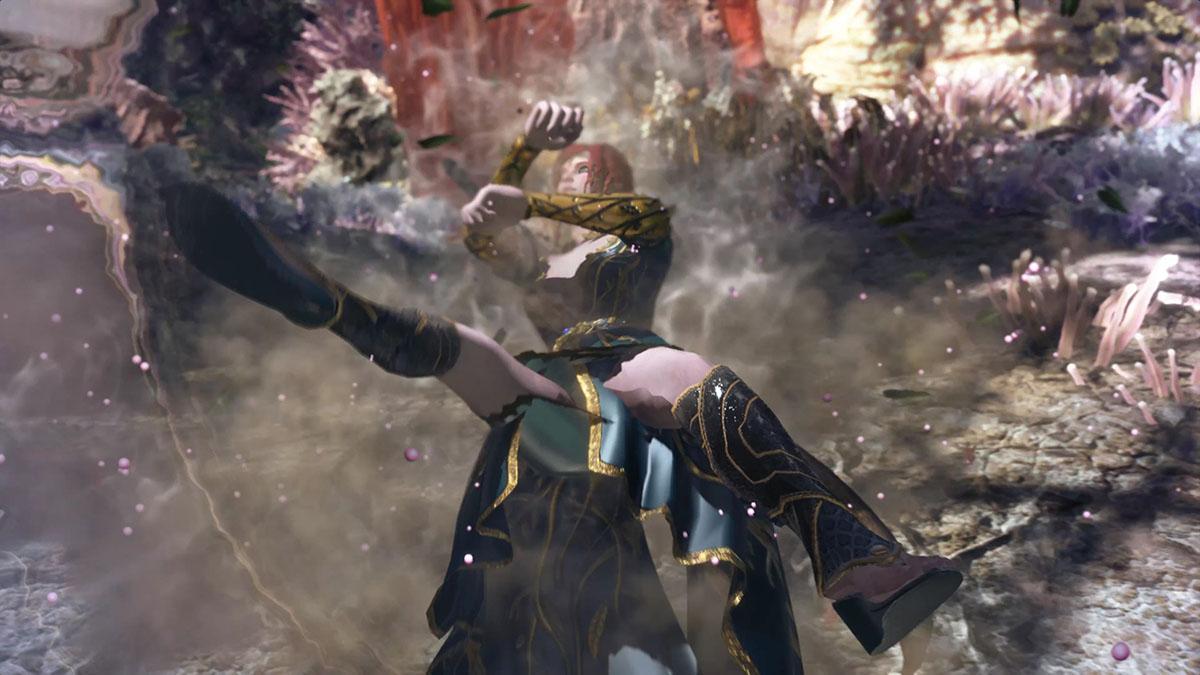 モンスターハンターワールドのMOD「The Witcher-Triss」を紹介するイメージ画像-3