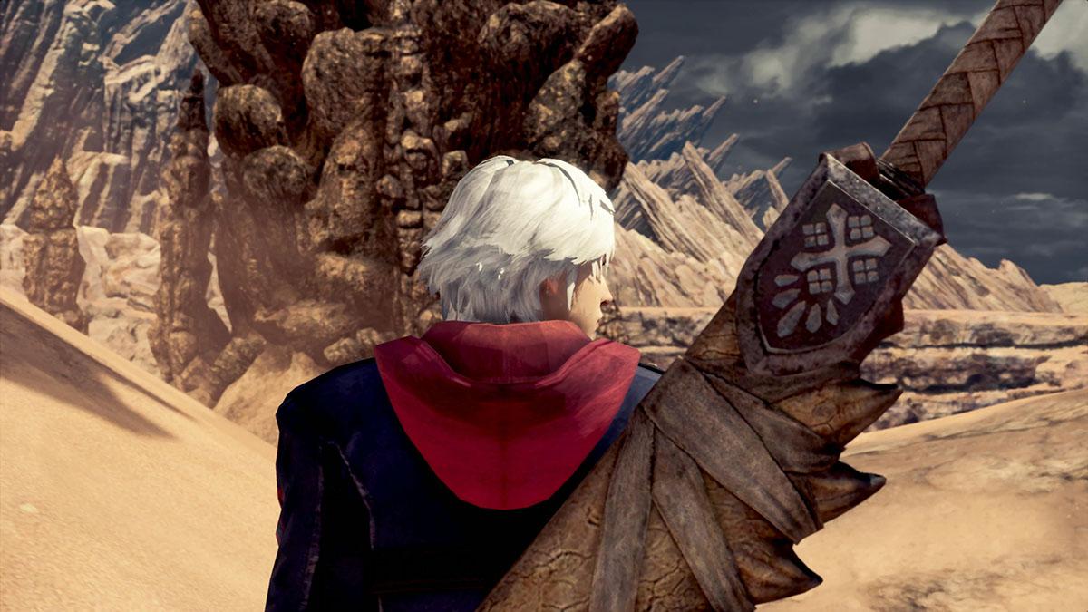 モンスターハンターワールドのMOD「Nero- Devil May Cry 4」を紹介するイメージ画像-2