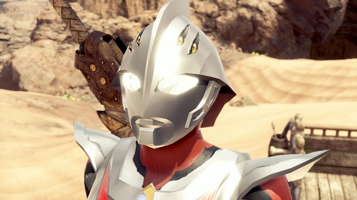 モンスターハンターワールドのMOD「Ultraman Nexus」を紹介するイメージ画像-1