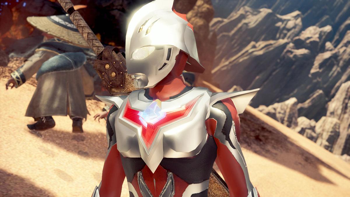 モンスターハンターワールドのMOD「Ultraman Nexus」を紹介するイメージ画像-2