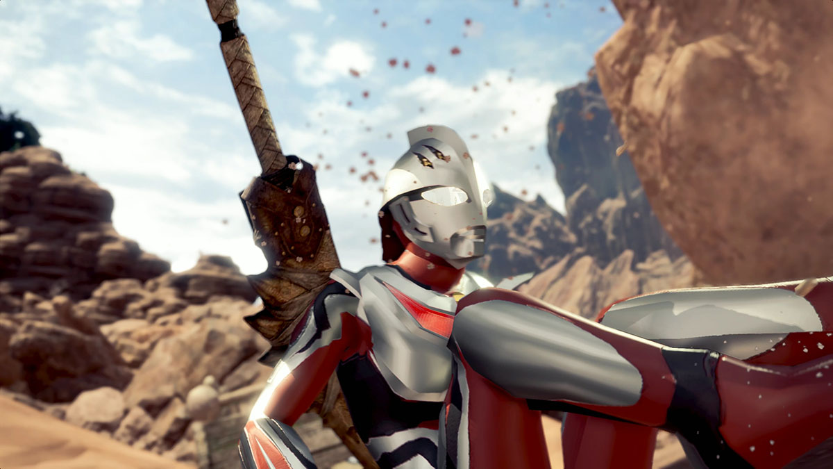 モンスターハンターワールドのMOD「Ultraman Nexus」を紹介するイメージ画像-3