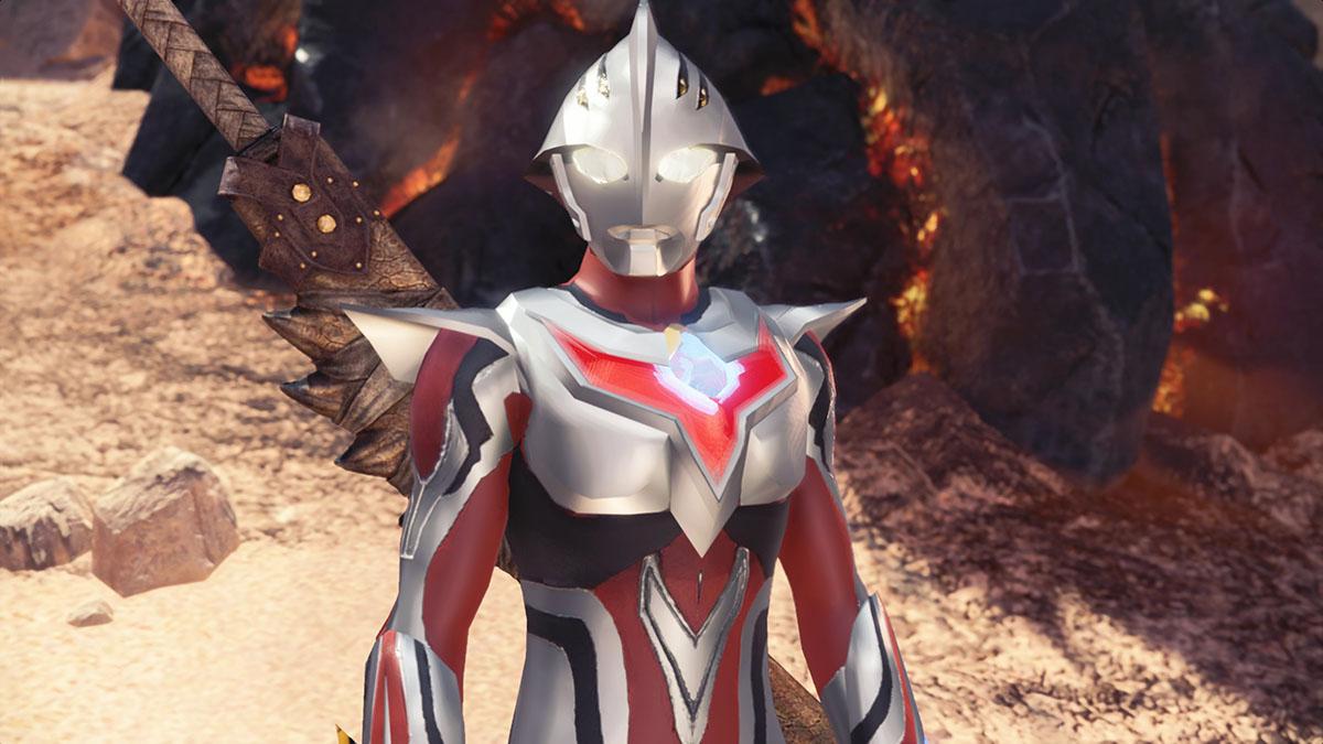 モンスターハンターワールドのMOD「Ultraman Nexus」を紹介するイメージ画像-4