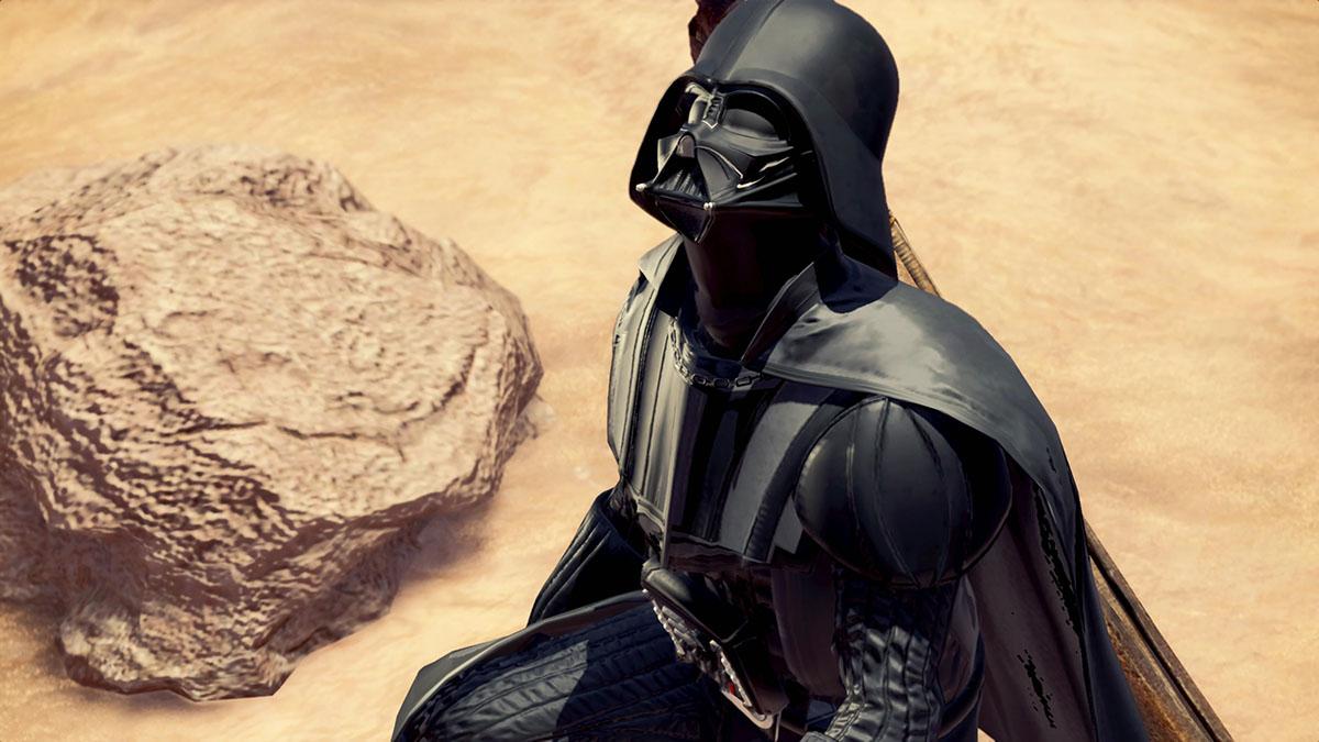 モンスターハンターワールドのMOD「Star Wars Darth Vader and Darth Maul」を紹介するイメージ画像-1