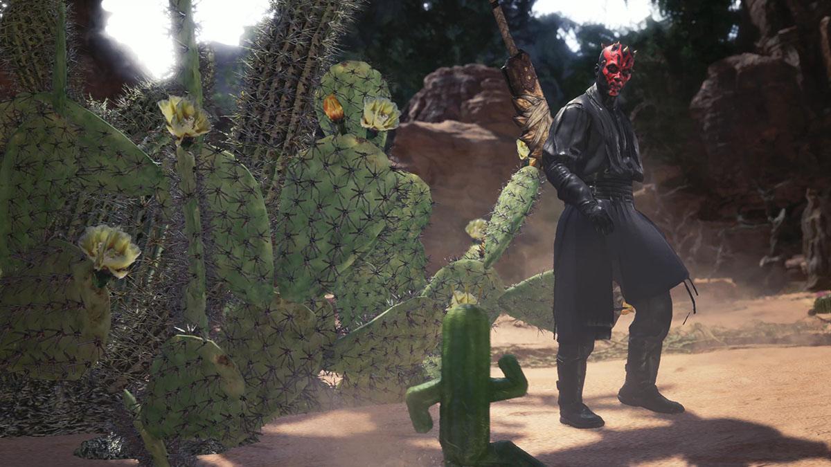 モンスターハンターワールドのMOD「Star Wars Darth Vader and Darth Maul」を紹介するイメージ画像-5