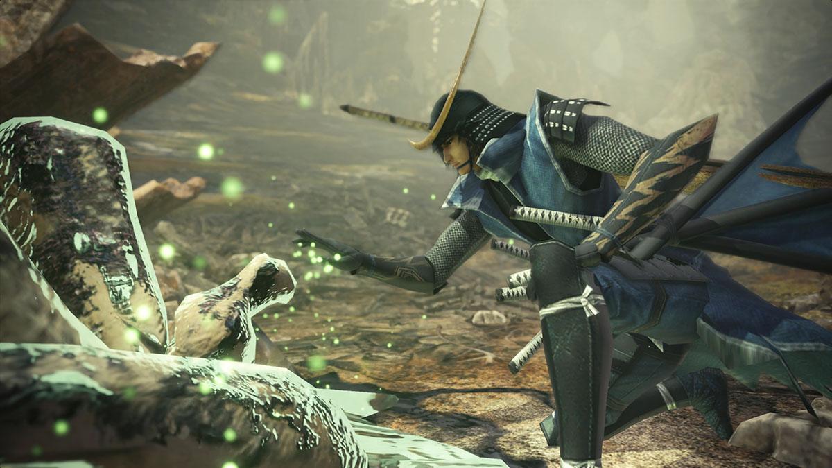 モンスターハンターワールドのMOD「Date Masamune - sengoku basara 3」を紹介するイメージ画像-2