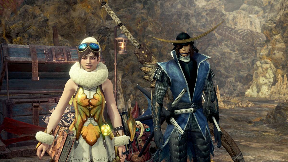 モンスターハンターワールドのMOD「Date Masamune - sengoku basara 3」を紹介するイメージ画像-4