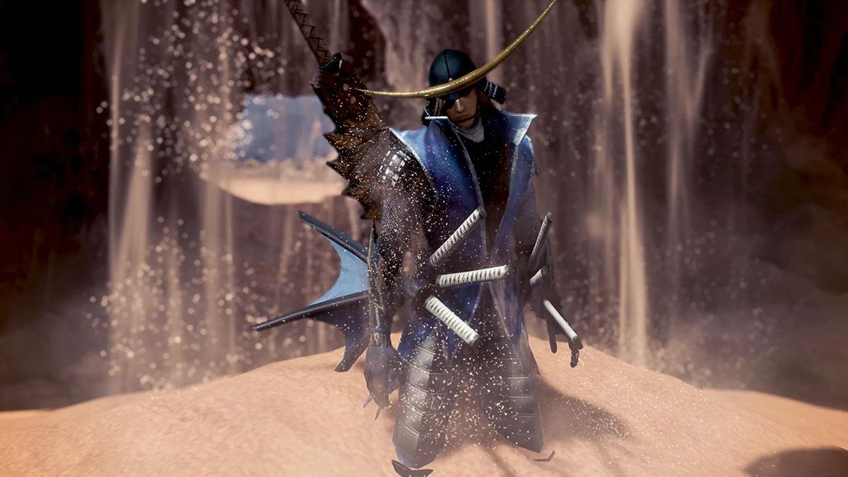 モンスターハンターワールドのMOD「Date Masamune - sengoku basara 3」を紹介するイメージ画像-1